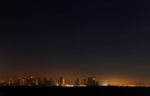 The city of San Diego remains in the dark following a power outage September 8, 2011. The massive power outage left well over a million people without electricity in Southern California and parts of Arizona and Mexico on Thursday, San Diego Gas